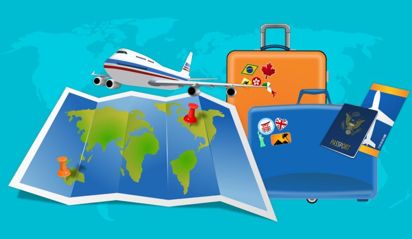 travel map travel insurance trip protection