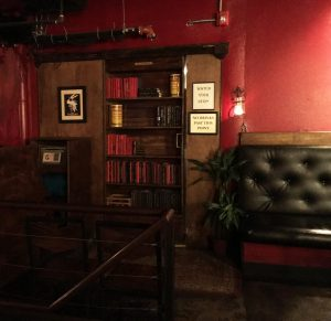 inside hidden speakeasy