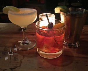 Prohibition style cocktails