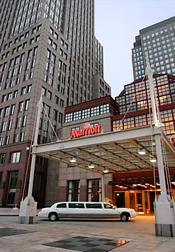 The Cleveland Marriot at...