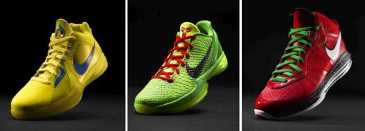 86d5473eadcf The Nike Basketball Christmas Pack 2010-2015. An Overview. – Empty ...