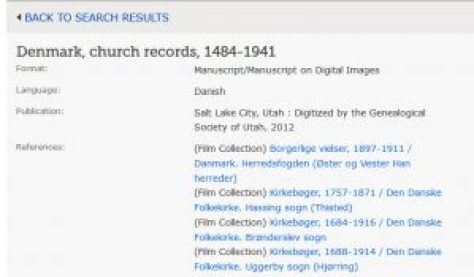 End of the Microfilm Era: Navigating FamilySearch Collections