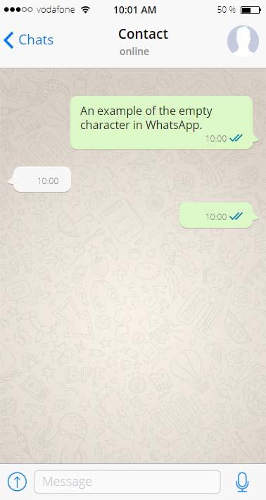 Text Message Pictures Copy Paste : message, pictures, paste, Empty, Characters,, Whitespaces, Blank, Unicode, Characters