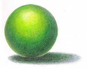 pencil colored drawing graphite drawings using under pencils sphere draw emptyeasel shade easy simple tutorial colouring colors shading really techniques