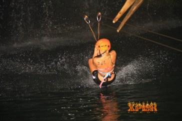 ziplining in mexico xplor excursion water fun couple trip