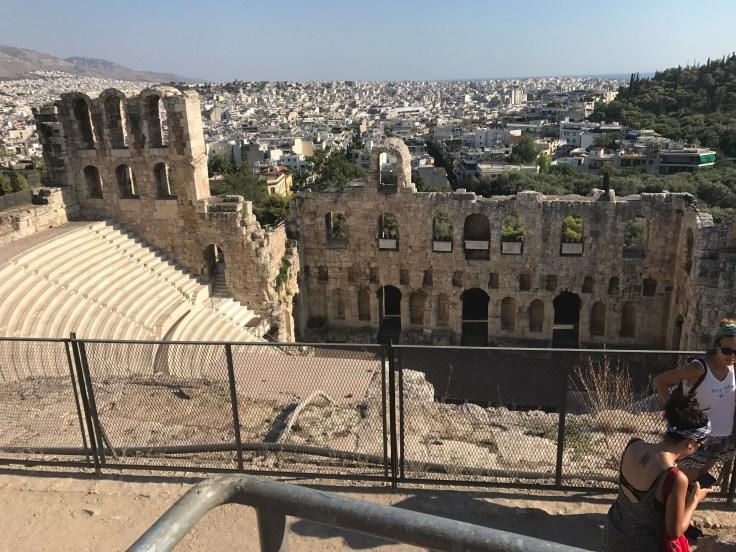 Acropolis, Greece, travel, birthday trip, explore, ruins, history