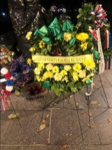 Vietnam Women's Memorial wreath
