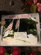 Vietnam Women's Memorial Thank you note