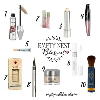 double duty beauty products, beauty products, beauty products that do two things, multi-purpose beauty products, empty nest, midlife beauty products