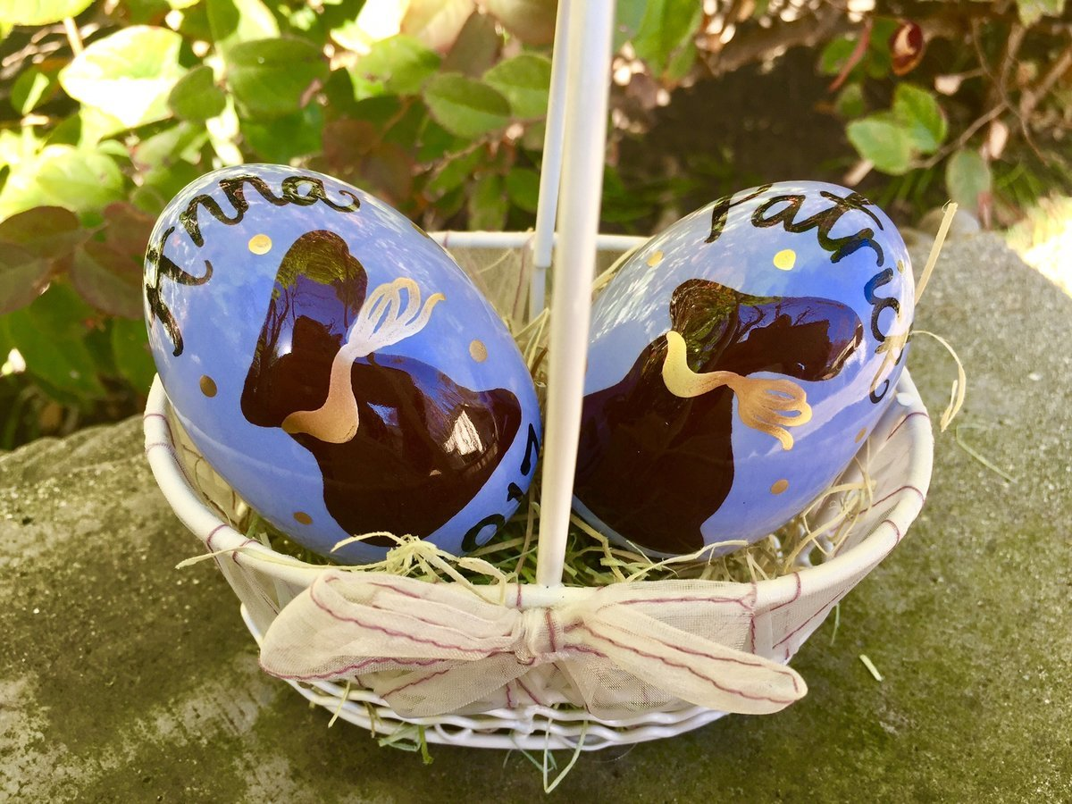 The perfect gift for easter ceramic treasures to cherish ceramic easter eggs ceramic treasures gift for easter easter gift brainstormcreations negle Gallery