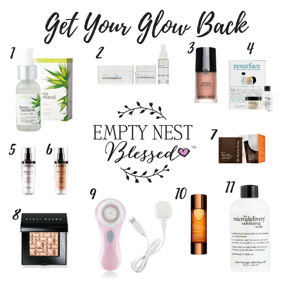 Glowing Skin, Exfoliation, Antiaging Skin, Get Glowing Skin, At