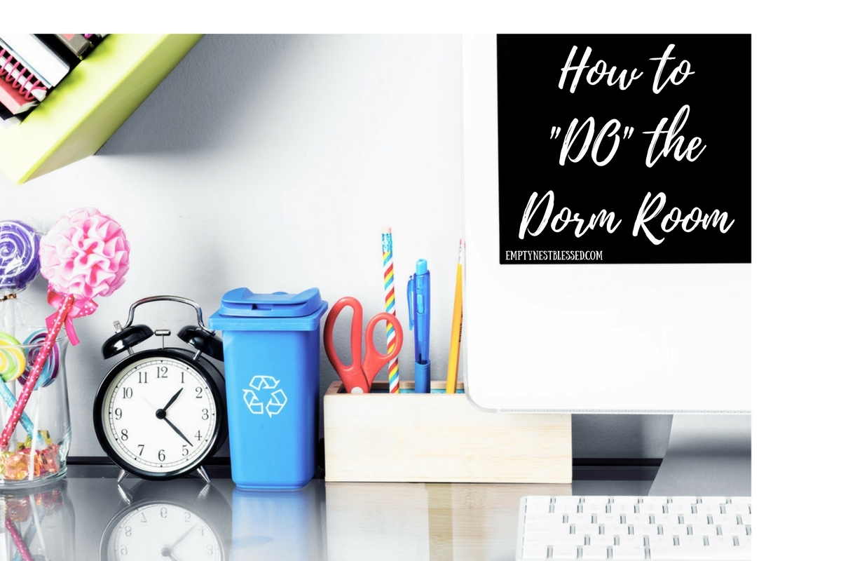 dorm room, dorm bedding, dorm decor, college packing list, dorm packing list, packing list for college, empty nest, empty nester, college parent, college packing, preparing for the empty nest, what to take to college, college must-haves, freshman packing list