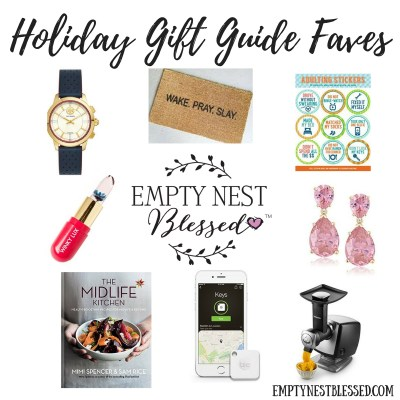 Gift guide favorites, holiday gift guide favorites, holiday gift guide, empty nester gifts, gifts for empty nesters, empty nester gift guide, empty nester holiday gift guide, gifts for grandchildren, gift ideas for grandchildren, gifts for pets, gift ideas for pets, gifts for senior adults, gift ideas for senior adults, gifts for elderly people, gifts for elderly relative, gift ideas for elderly, gifts for him, gift ideas for him, gift ideas for men, gift ideas for midlife men, gifts for her, gift ideas for her, gift ideas for women, gift ideas for midlife women, holiday gift ideas, Christmas gift ideas, empty nest, empty nester, empty nesters, empty nest syndrome, empty nest blessed