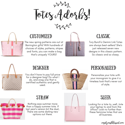 Totes Adorbs! | How to Choose the Perfect Tote Bag for You