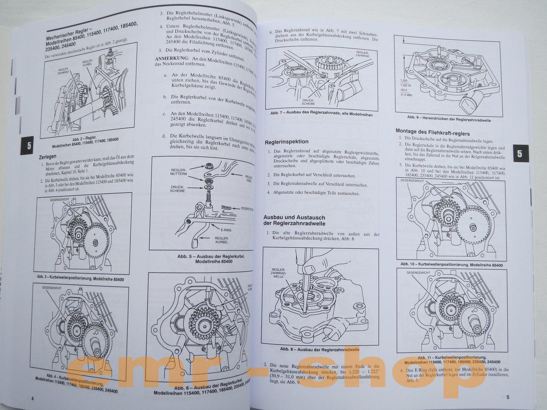 briggs and stratton reparaturhandbuch immersion switch wiring diagram 1 zyl ohv motoren rasenmäher