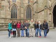 EMREM Summer Trip 2013 - Worcester Cathedral: Group Photo.