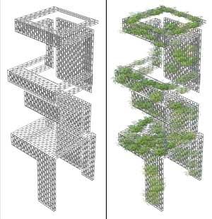 Antilia 07 - vertical gardens