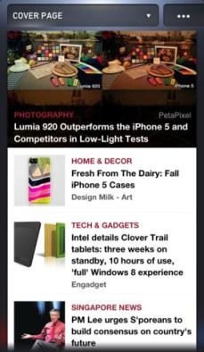 NewsLoop iPhone 1