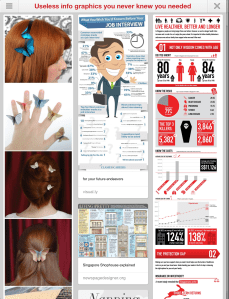 Pinterest board by Amodularlife: Useless Info graphics you never knew you needed