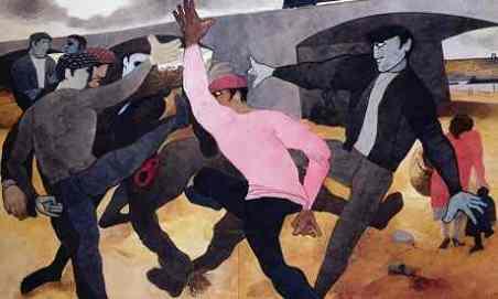 'The Straw Man', 1963, by Edward Burra