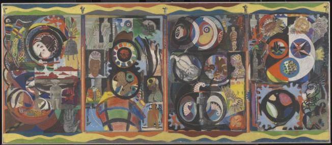 'The Autobiography of an Embryo', 1933-4, by Eileen Agar