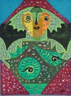 'Miss Terry', 1980, by Eileen Agar
