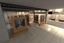 Espaço destinado para a exposição do profissional homenageado do evento