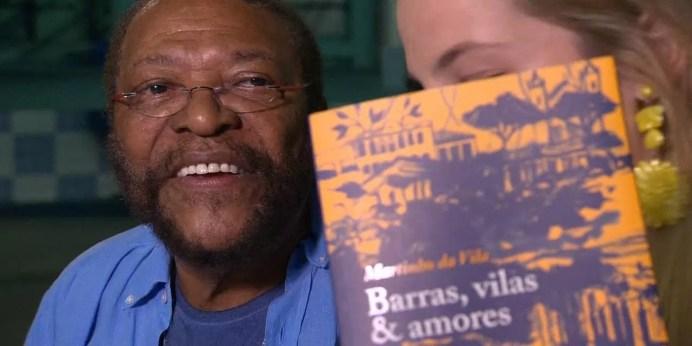 Martinho da Vila lança 14º livro na Feira Nacional do Livro de RP