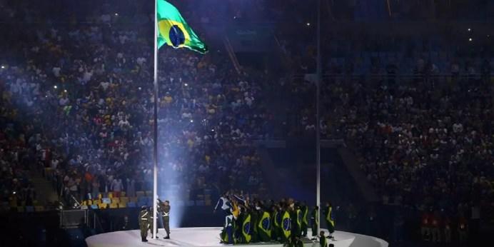 Rio de Janeiro - Cerimônia de abertura dos Jogos Olímpicos Rio 2016, no Maracanã (Reuters/Pilar Olivares/Direitos Reservados)