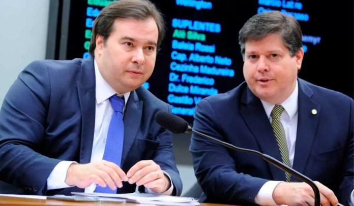 Rodrigo Maia quer Baleia Rossi na liderança da Câmara dos Deputados