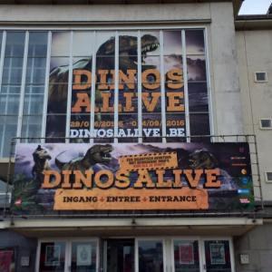 Dinos Alive at Kursaal Oostende