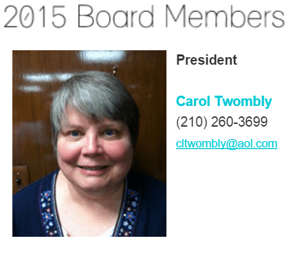 Carol Twombly, President of San Antonio Chapter of the Texas ENA at ctwombly@aol.com or (210) 260-3699