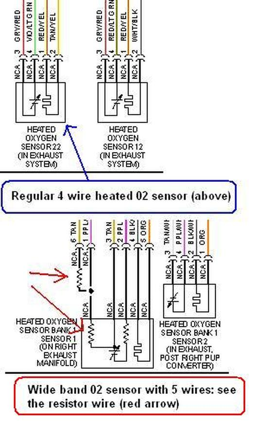 Bosch O2 Sensor Wiring : bosch, sensor, wiring, Sensor, Lixin, Advanced, Engine, Management, System, Diagnosis