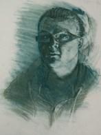 Value Study Self Portrait