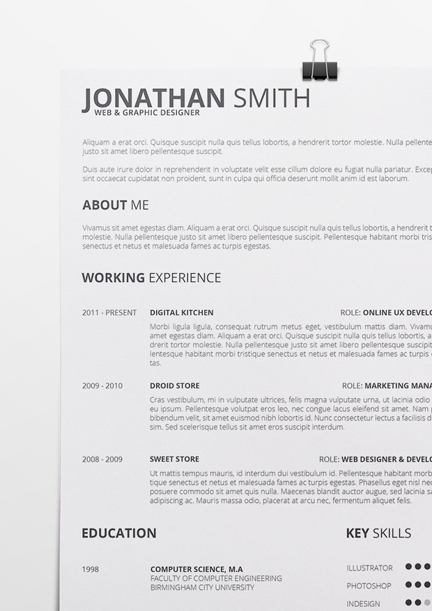 Resume Example Docx - Examples of Resumes