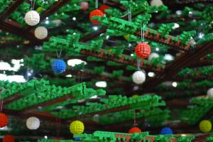 Lego Christmas Tree - St. Pancras International
