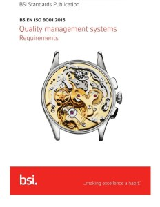 ISO 9001:2015 - The new Quality Management Standard