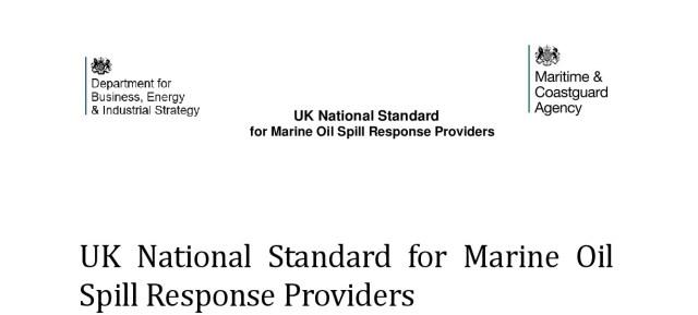 UK National Standard for Marine Oil Spill Response Providers