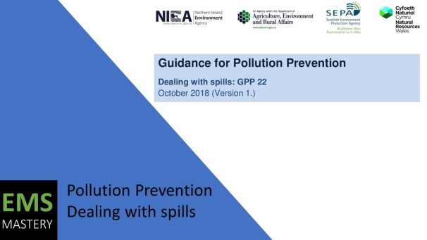 Pollution Prevention: Dealing with Spills