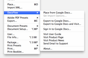 DocsFlow User Guide Em Software - Google docs sign in