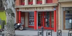 Vista exterior de las oficinas de EMSULE