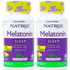 Melatonina natrol citrus 10mg