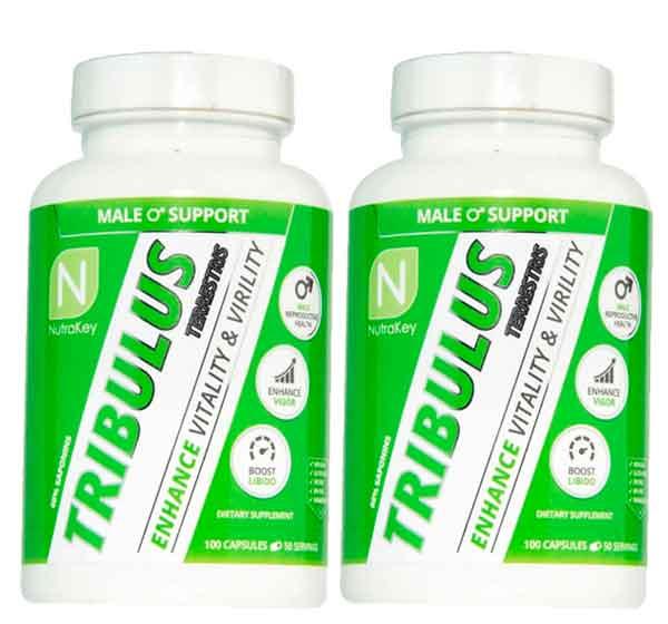 Tribulus Terrestris Puro (60% de saponinas) 100 capsulas – Nutrakey