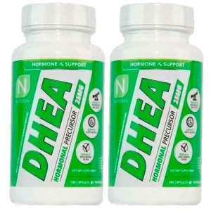 2X Dhea 25 mg Testosterona Ultra Micronizada Nutrakey 100 Cápsulas