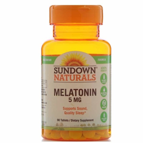 Melatonina Sundown Naturals 5mg