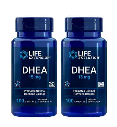 Dhea 15mg Life Extension, 100 capsulas