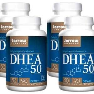 4x DHEA 50 mg – Jarrow Formulas – 90 cápsulas