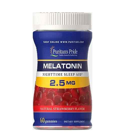 melatonia puritans em gomas