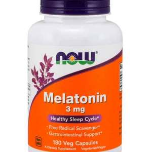 Melatonina 3 mg - Now Foods - 180 cápsulas