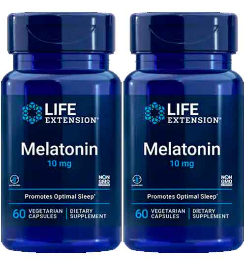 Melatonina Life Extension 10 mg